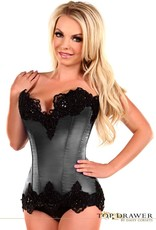 Daisy Corsets TD-32/34 Daisy Corset with Lace and Beads