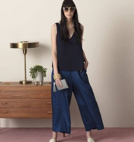 ELK Elk Women's Wide Leg Culottes Indigo Blue ON  SALE !!