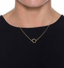 ELK Elk N1863S15 Hexagon Necklace