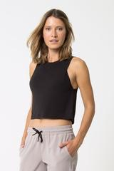 MPG MPG Revolve 2.0 Stink-Free Warrior Knit Cropped Tank