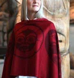 Chloe Angus Designs Chloe Angus Spirit Wrap<br /> Fabric Content: 85% Acrylic,15% Wool -LONG LENGTH.  -  ON SALE !!