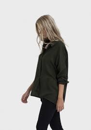 ELK ELK Loden Wide Placket Soft Shirt