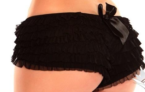 Daisy Corsets Daisy Ruffle-Panties-With-Bow