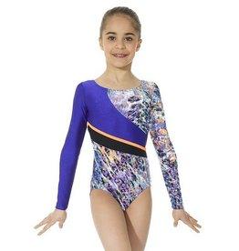 Mondor Mondor 37873 Gymnastic Long Sleeved Leotard