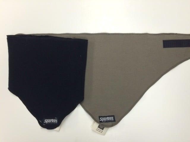 Sportees Sportees Windbloc Fleece Triangle Neck Warmer w  Velcro ... 7ef12d228fa9a