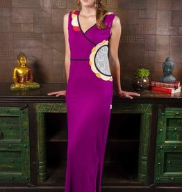 Adria Mode Cybil-Organic-Cotton-Maxi-Dress