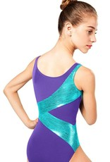 So Danca So Danca L869-Child-Bodysuit-Diagonal-Design