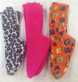 Sportees Sportees Children-2 Way Stretch 200 Weight Fleece Socks-Size 3