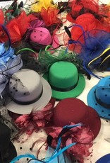CA Little Top Hats with <br /> Flowers