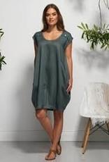 Vigorella Vigorella VL0355 Dress with Shoulder Buttons