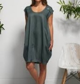 Vigorella Vigorella VL0355 Dress with Shoulder Buttons   - ON SALE ! !
