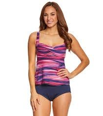 Gabar Swimwear Gabar  G17202 2PC Twist Tankini