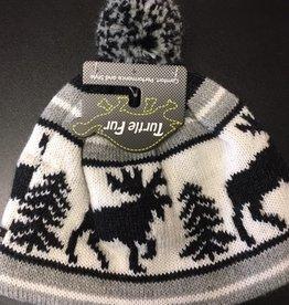 Turtle Fur Turtle Fur Classic Wool Ski Hats: Pom Baxter
