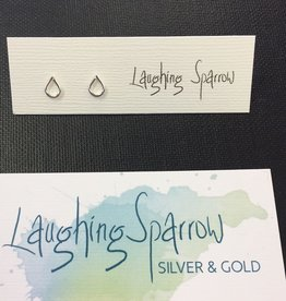 Laughing Sparrow Laughing Sparrow 170-11 Tiny Raindrop Studs