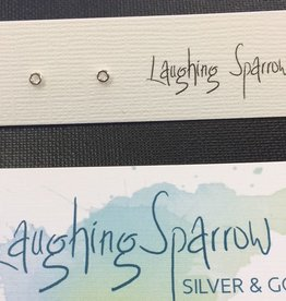 Laughing Sparrow Laughing Sparrow 170-13 Tiny Doughnut Studs