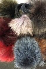 CA Fur Pom Pom with Elastic