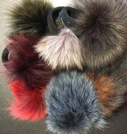 Fur Pom Pom with Elastic