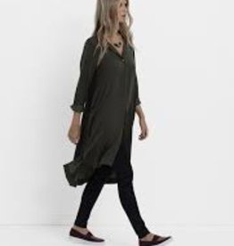 ELK Elk Loden Drapey Shirt Dress ON  SALE !!