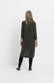 ELK Loden Drapey Shirt Dress