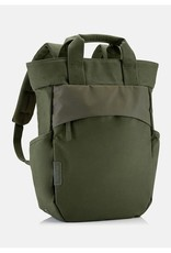 """Crumpler 13"""" padded laptop compartment<br /> Tote bag style main compartment<br /> 13 litre main storage<br /> Fully adjustable shoulder straps<br /> Two water bottle compartments<br /> Canvas/nylon/ripstop blend"""
