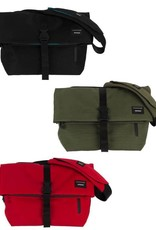 Crumpler 4 Storage zones- zippered top opening main compartment with full width zippered internal utility pocket, soft lined twin zippered rear compartment for an iPad, vertical opening zippered front pocket and reinforced side accessory loop<br /> YKK water resistant z