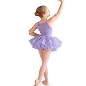 Bloch Diamond Heart Mesh Tutu