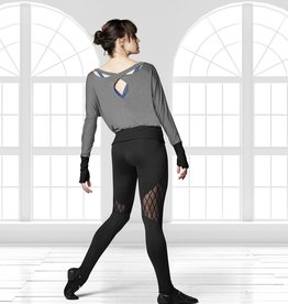 Bloch Bloch FP5044 Diamond Flock Stirrup Legging