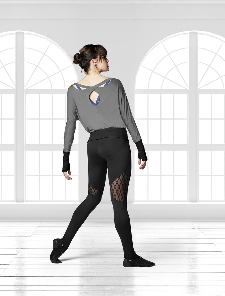 Bloch Diamond Flock Stirrup Legging