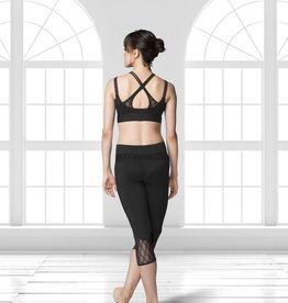 Bloch Bloch FP5045 Diamond Flock Capri Leggings