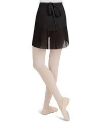 Capezio Capezio (N272-BLK-M/L) Wrap Skirt