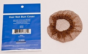 Capezio 100% Nylon<br /> One size<br /> Bun shaped hair net with elasticated opening<br /> 1 per package