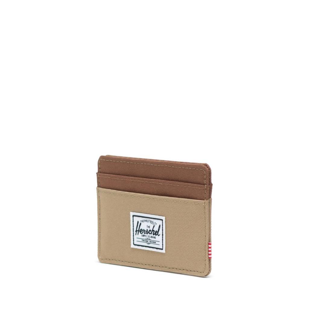 Herschel Supply Co. Herschel Charlie Wallet - Kelp/Saddle Brown