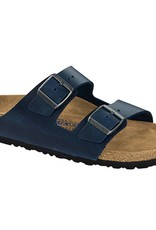 Birkenstock Birkenstock Arizona Soft Footbed - Oiled Leather (Men - Regular) - Blue