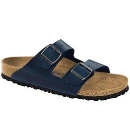 Birkenstock Birkenstock Arizona Soft Footbed - Cuir Huilé (Hommes - Régulier) - Blue