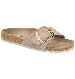 Birkenstock Birkenstock Madrid Big Buckle Leather (Femmes - Étroit) - Washed Metallic Rose/Gold