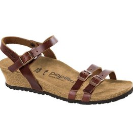 Birkenstock Birkenstock Papillio Lana Leather (Women - Narrow) - Cognac