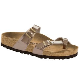 Birkenstock Birkenstock Mayari Birko-Flor (Women - Regular) - Electric Metallic Taupe