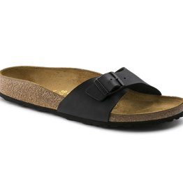 Birkenstock Birkenstock Madrid Birko-Flor (Men - Regular) - Black