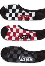 Vans Vans Classic Super No Show Socks - Red/White Check