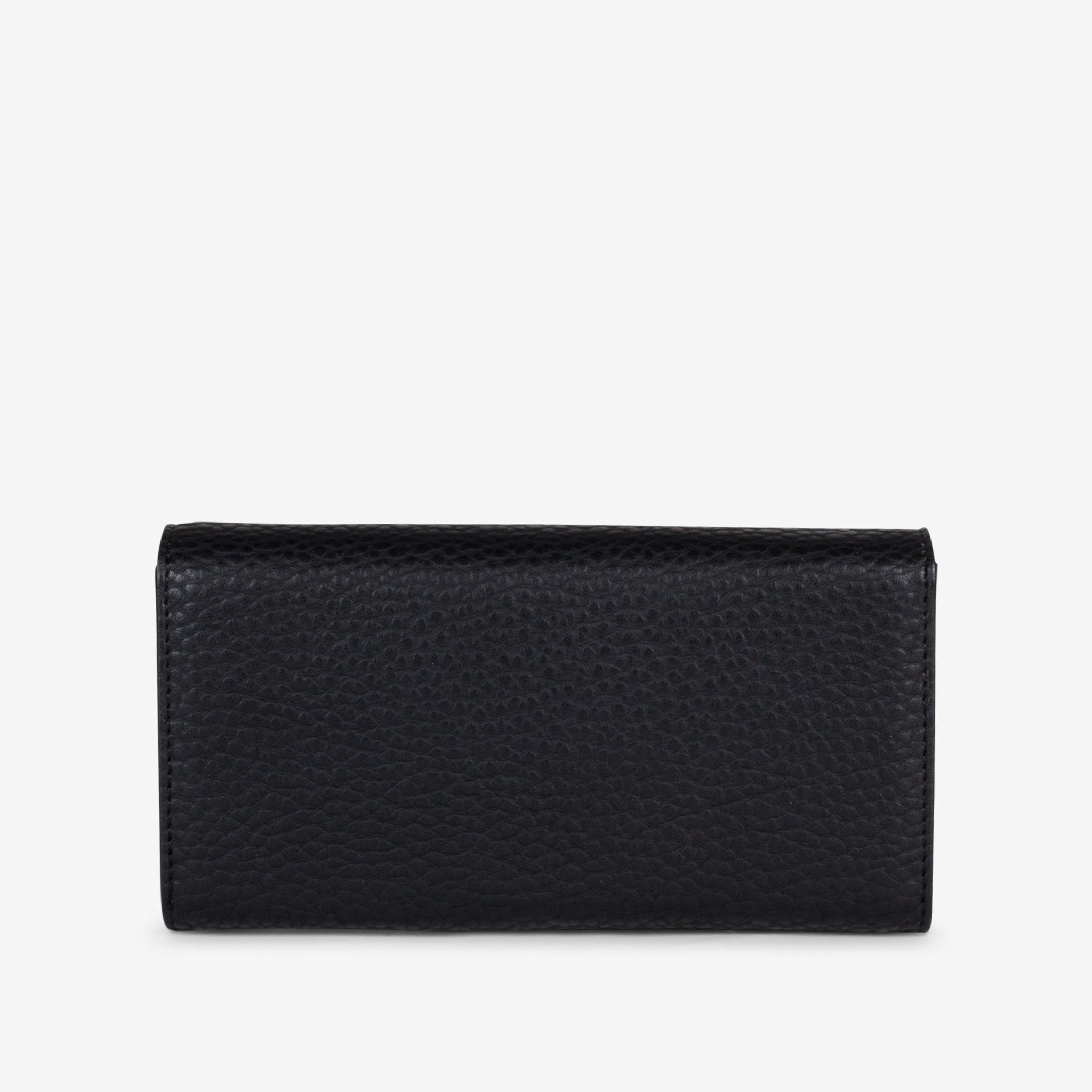 Colab Colab Pebble SLGs Tri-Fold Card Wallet (#6116) - Black