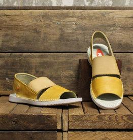 Softinos Softinos TAI Washed Leather - Yellow