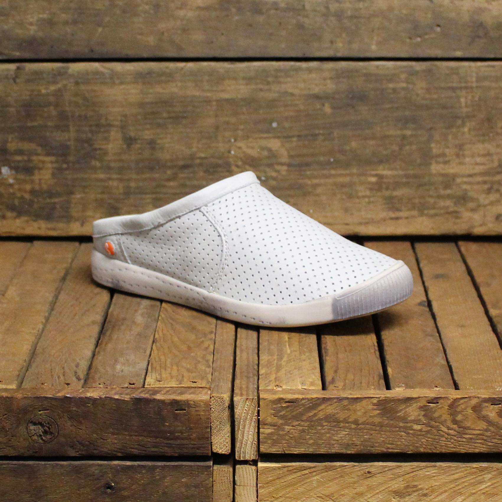 Softinos Softinos IMA Smooth Leather - White