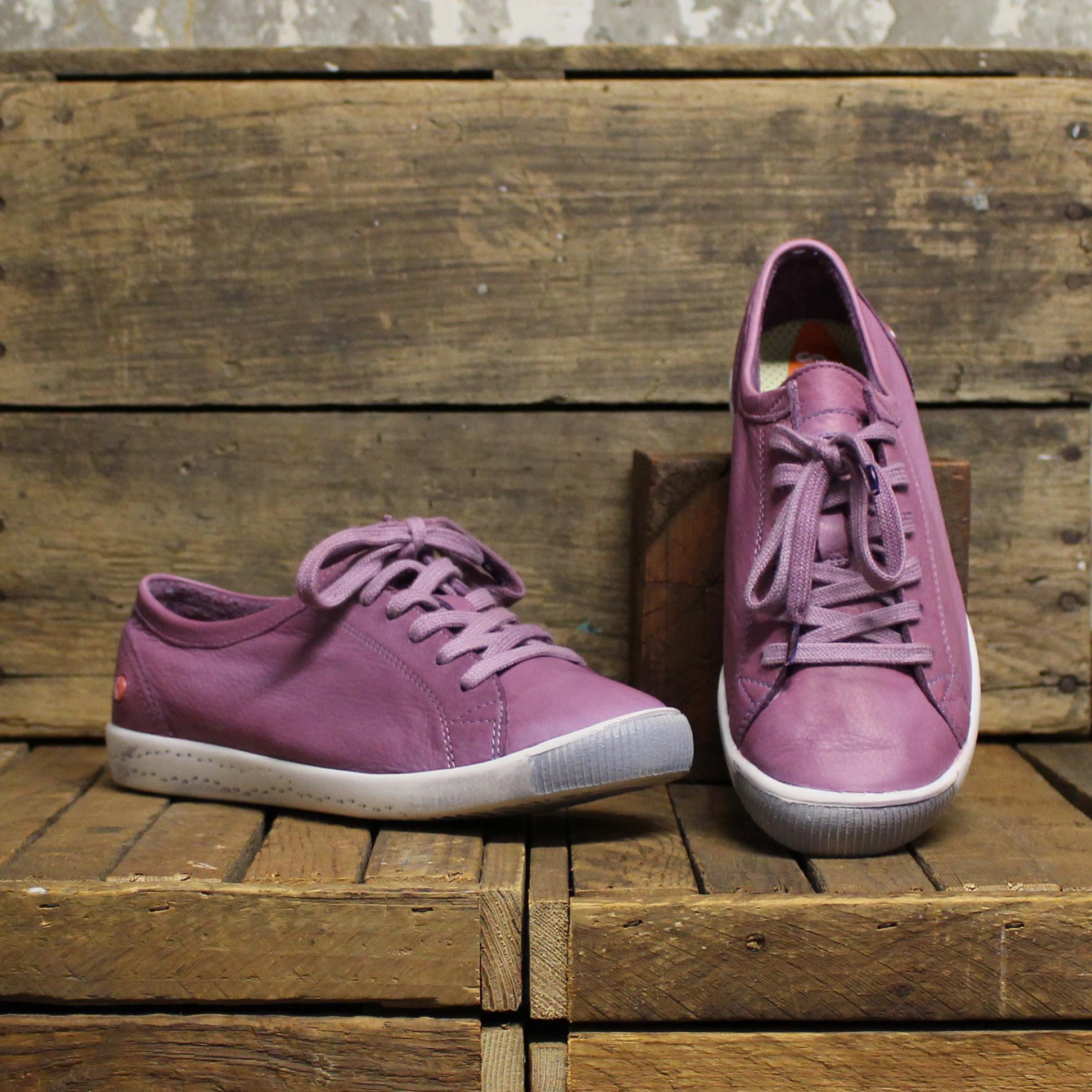Softinos Softinos ISLA Washed Leather - Lilac