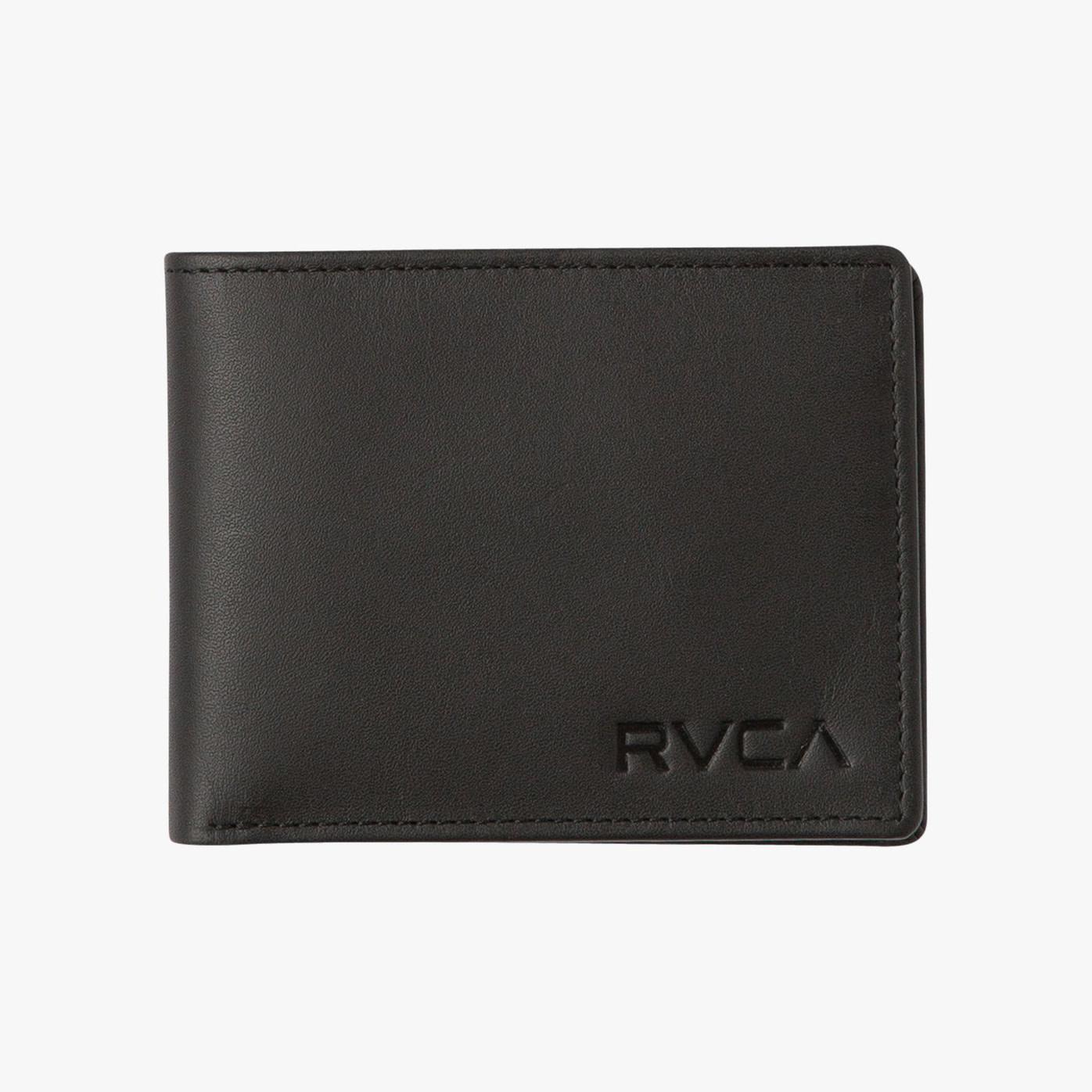 RVCA RVCA Crest Bifold Wallet - Black