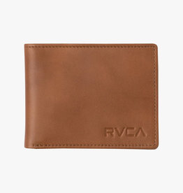 RVCA RVCA Crest Bifold Wallet - Tan