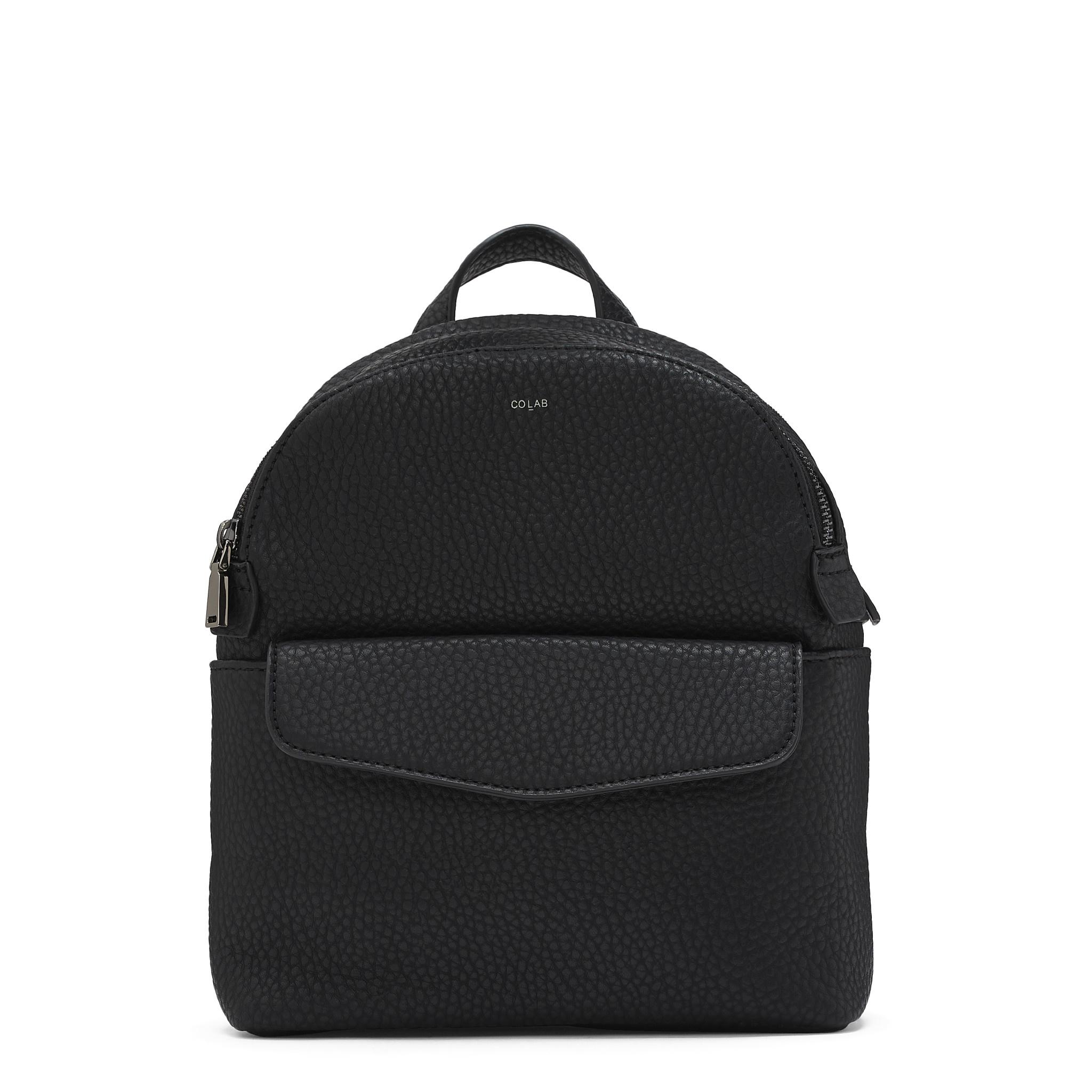 Colab Colab Pebble P.U. Mini Backpack (#6336) - Black