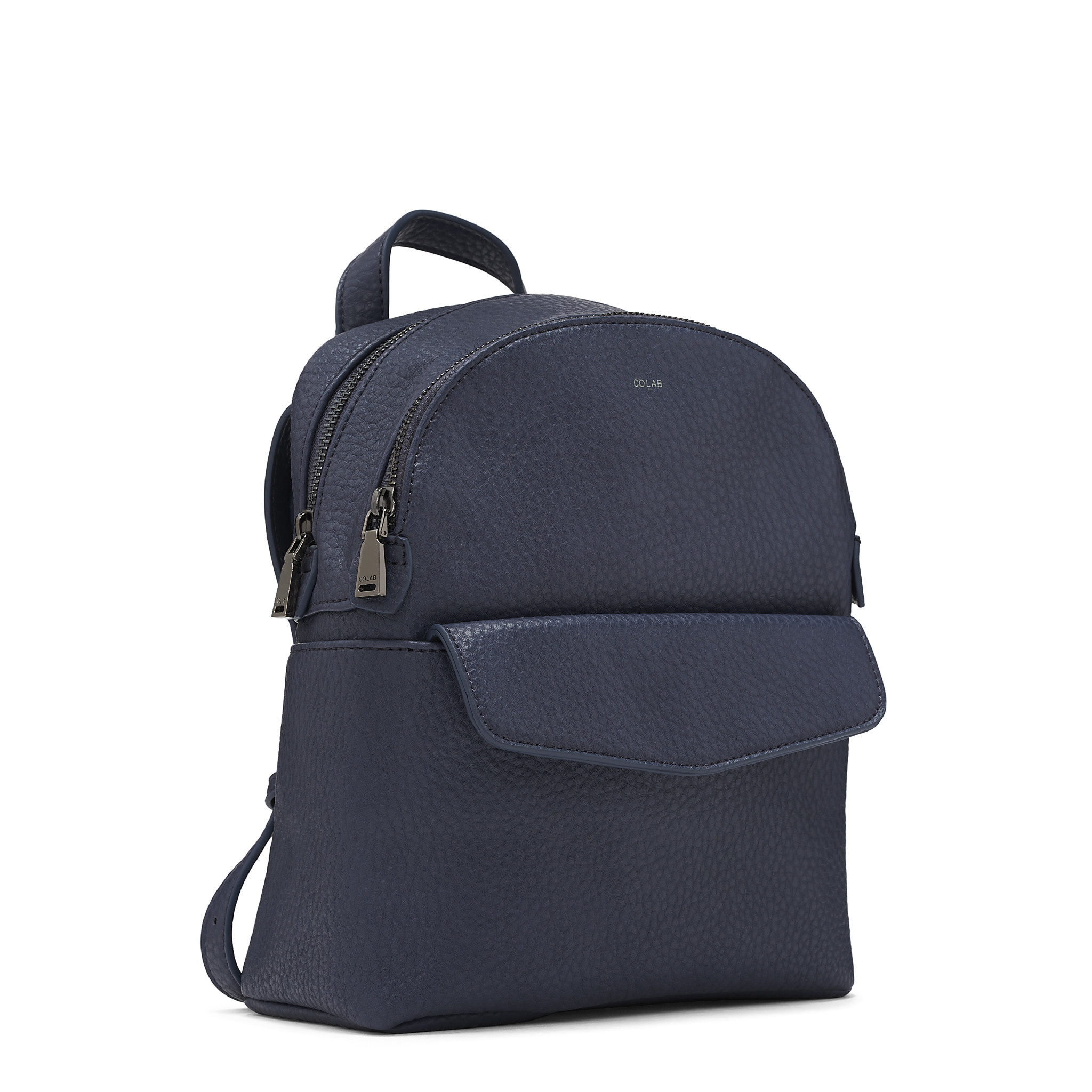 Colab Colab Pebble P.U. Mini Backpack (#6336) - Blue Bay