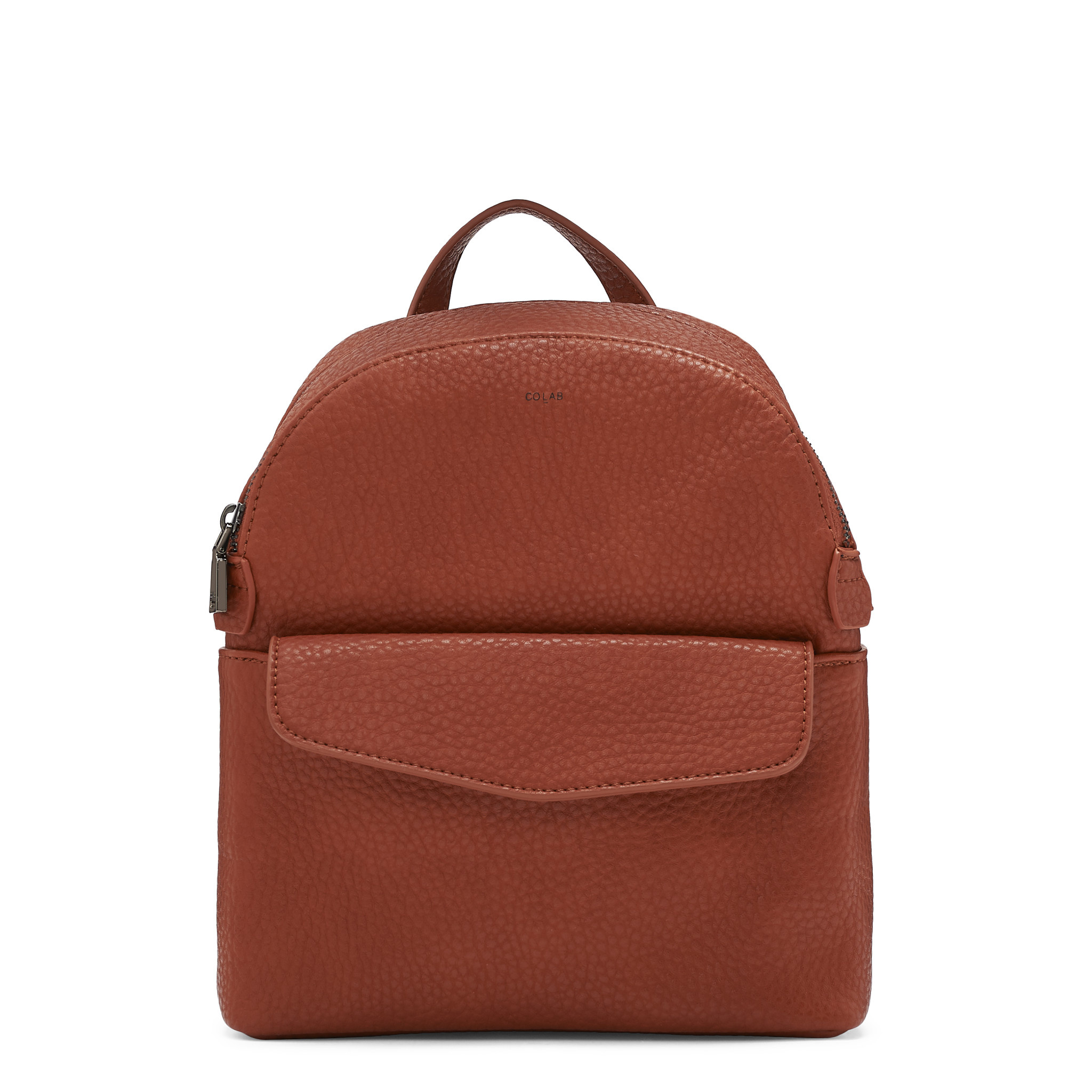 Colab Colab Pebble P.U. Mini Backpack (#6336) - Pumpkin