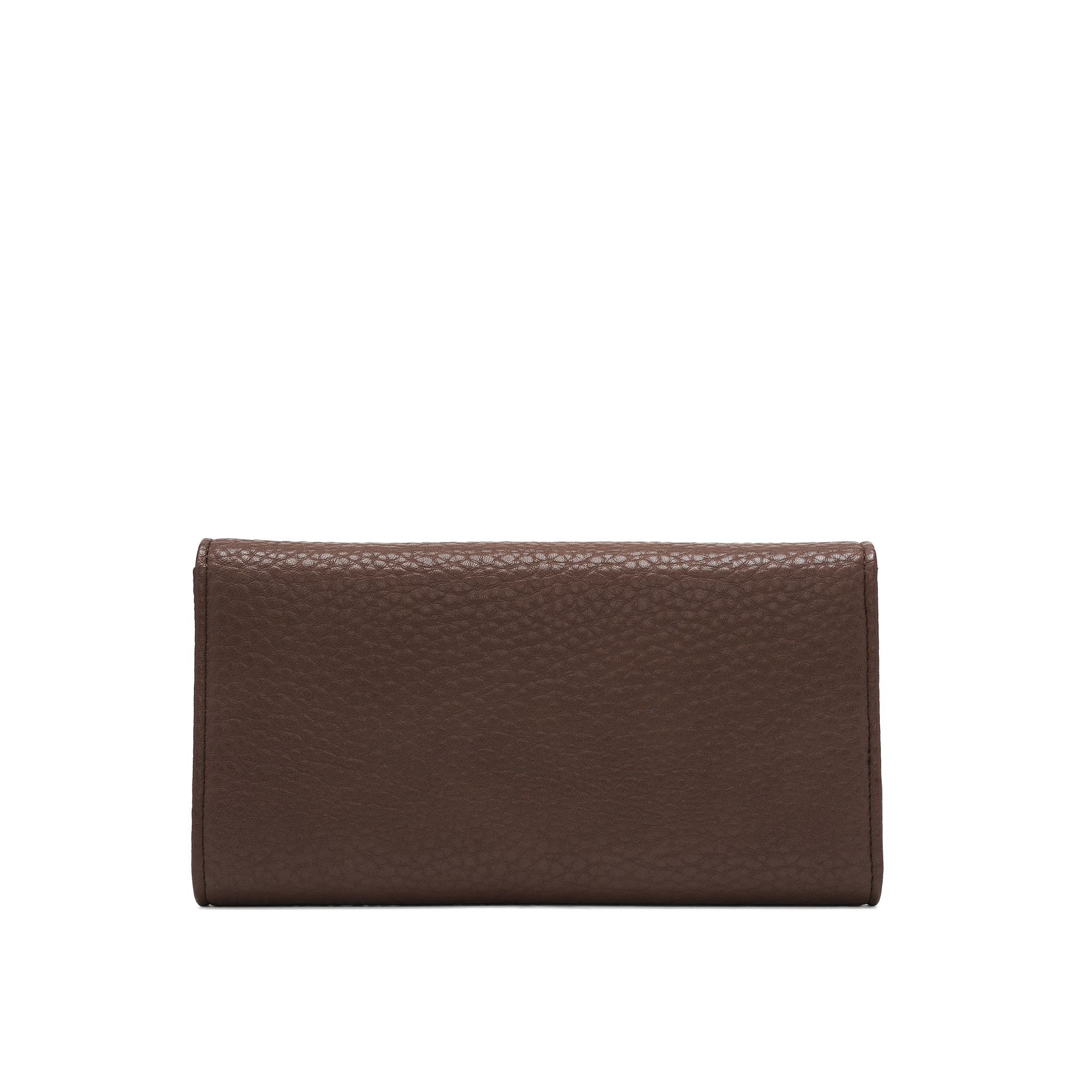Colab Colab Pebble P.U. Tri-Fold Card Wallet (#6116) - Oak