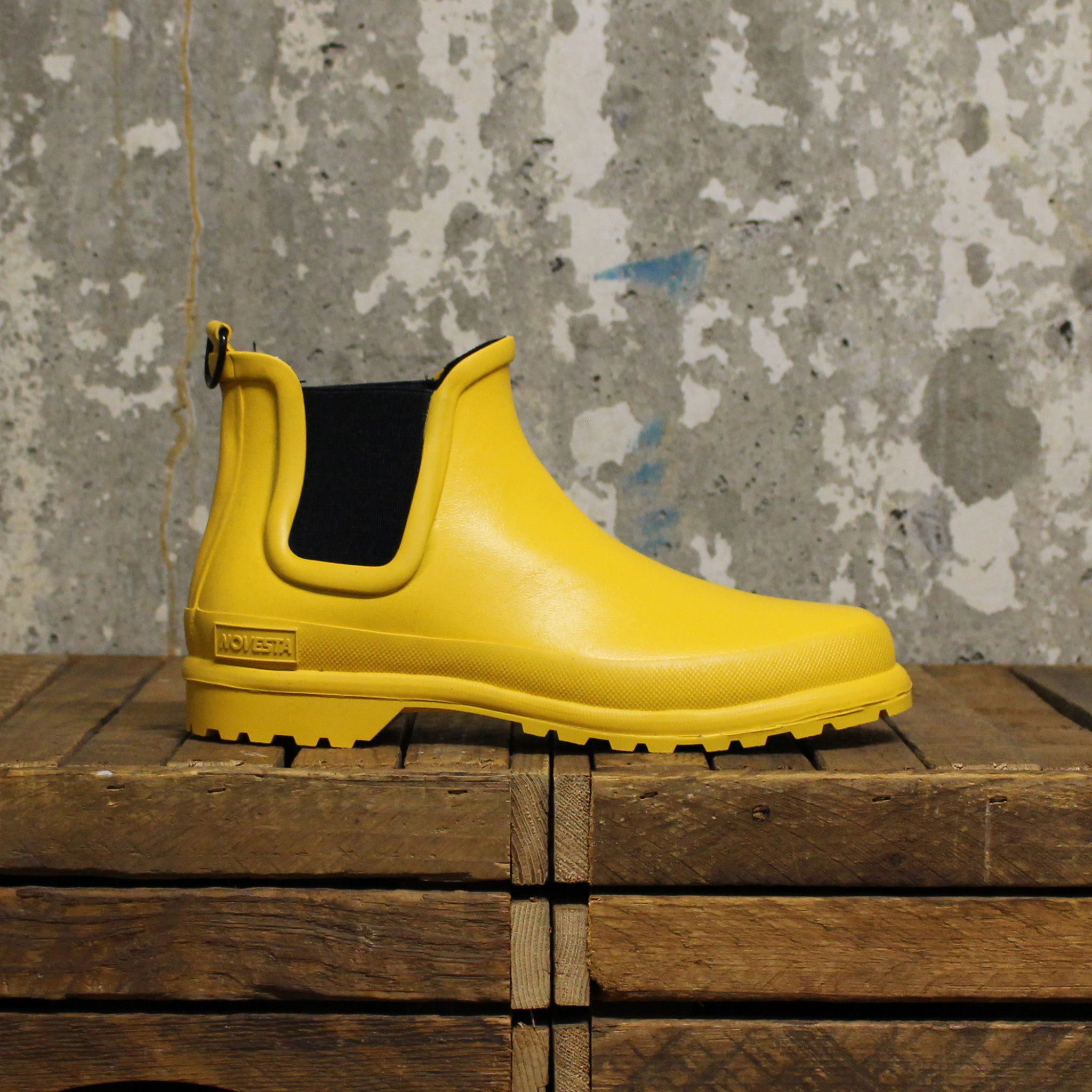 Novesta Novesta Chelsea Boot - Yellow